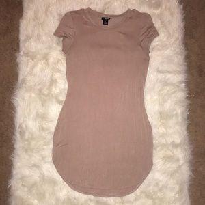 Wet Seal beige mini dress   size L